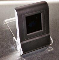 """Digitaler Fotorahmen 1,5"""" als Tischaufsteller schwarz DF-15D"""