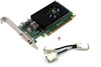 NVIDIA NVS 315 1GB DDR3 Grafikkarte PCIe x16 inkl. DMS-59...