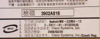 Cisco Catalyst 2950 WS-C2950-12 Switch