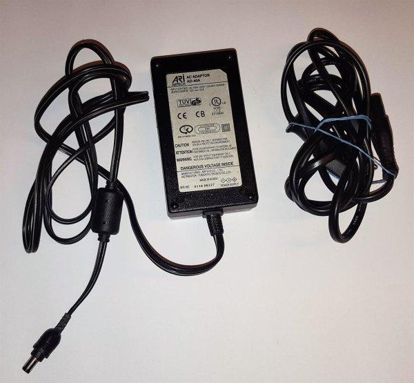 ARITECH AC adapter AD-40 A 12V 3.0A