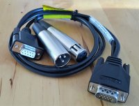 VX222 Cable balanced/ digital SC141200101 AES/EBU  in out...