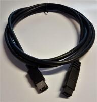 1394 FireWire 9p/9p Kabel 1,8m lang