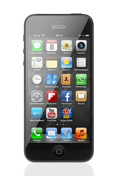 "Apple iPhone 5, 4"" Display, 16 GB, schwarz"