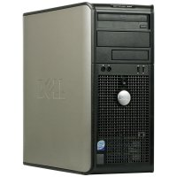 Dell Optiplex PC 380 TWR Intel Core2Duo E7500 4GB RAM 500...